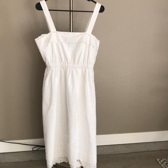 59bf9767ada Madewell Dresses   Skirts - Brand new Madewell Eyelet tiered midi Dress